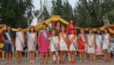 Carmen García coronada como Reina Infantil 2011 de Puerto Lumbreras