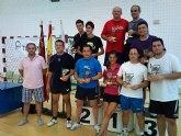 Tenis de mesa. Torneo de dobles Fiestas de Santiago 2011