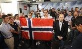 Juventudes Socialistas de Totana condena los atentados de Oslo contra el Gobierno noruego y las Juventudes Laboristas