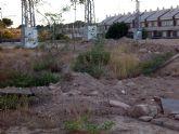 El Grupo Socialista exigirá la limpieza inmediata de dos solares abandonados en la pedanía de El Puntal