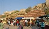 Puerto Lumbreras acoge durante todo el fin de semana el Mercadillo Medieval 'Zoco Medina Nogalte' en el entorno del Castillo y las Casas Cueva