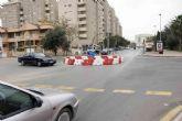 Corte de tráfico de tres horas por las obras en Ronda Ciudad de La Unión