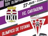 El Olímpico de Totana y FC Cartagena disputan mañana el segundo partido conmemorativo del 50 aniversario del club totanero