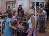 La residencia Mensajeros de la Paz homenajea a sus internos en el Día de Los Abuelos