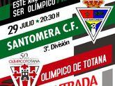 El olímpico de Totana continuará su preparación de pretemporada con un partido contra el Santomera, de tercera división
