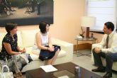 El consejero de Obras Públicas reitera a la alcaldesa que la Comunidad Autónoma impulsará el Plan General de Ordenación Urbana