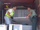 Halladas 54 placas solares robadas gracias a un servicio coordinado de Guardia Civil y Policía Local de Torre Pacheco