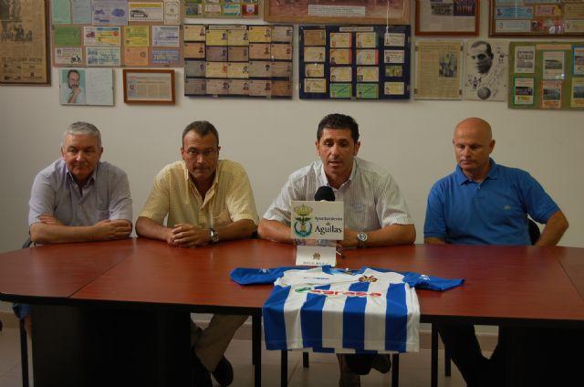 Nueva vestimenta y nuevo sponsor del Águilas FC - 1, Foto 1