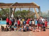Un centenar de niños participa en la Escuela Polideportiva de Verano