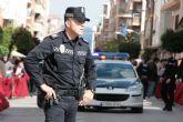 La Policía Local de Yecla detiene en un tejado a dos individuos que huían tras forzar un comercio