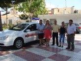 Los taxis de San Pedro del Pinatar renuevan y unifican su imagen