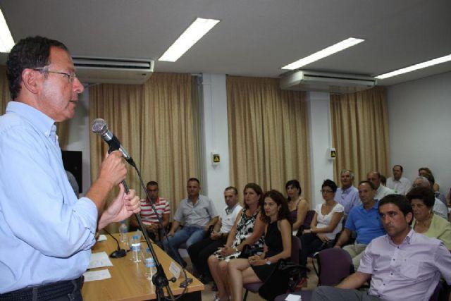 Cámara preside la elección de los presidentes de las juntas municipales de Llano de Brujas y El Raal - 3, Foto 3