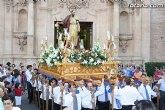 Cientos de personas acompañaron al patrón Santiago por las calles de Totana
