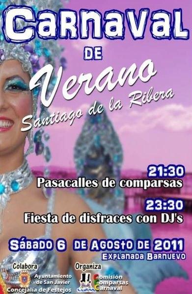 I Carnaval de Verano de Santiago de la Ribera - 1, Foto 1