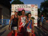 Ciento ochenta triatletas consolidan el triatlón Villa de Blanca como una de las grandes pruebas de la Región