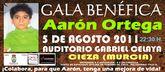 Iguana Tango, Buena Onda, Danny Leiva, Mario Jefferson entre otros en la gala benéficaa favor de Aarón Ortega en Cieza