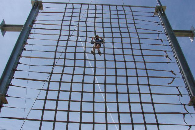 Aventura y diversión se dan cita en la acampada de Nerpio - 1, Foto 1