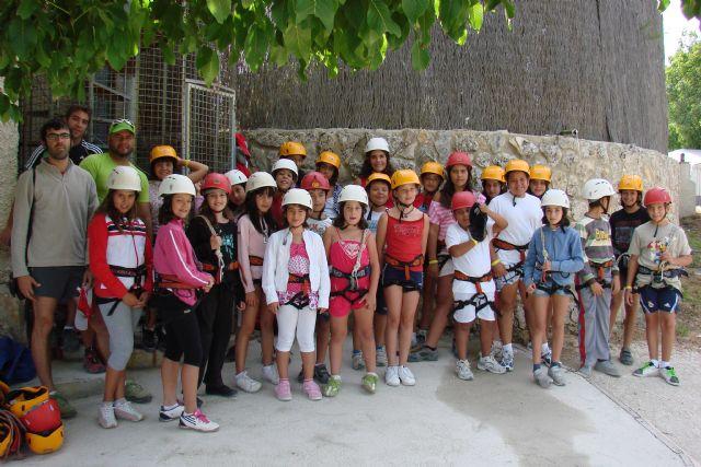 Aventura y diversión se dan cita en la acampada de Nerpio - 2, Foto 2