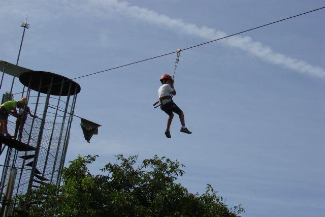 Aventura y diversión se dan cita en la acampada de Nerpio - 3, Foto 3