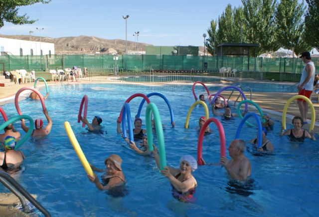 Más de 6.500 bañistas disfrutaron durante el mes de julio de las piscinas municipales de Puerto Lumbreras - 1, Foto 1