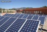 El ayuntamiento de Totana instalar� placas fotovoltaicas en un total de diez edificios municipales para generar energ�a limpia y generar ingresos adicionales