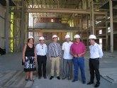 Cruz destaca el carácter estratégico para la cultura y el turismo que va a representar el nuevo Complejo Cultural de Puerto Lumbreras
