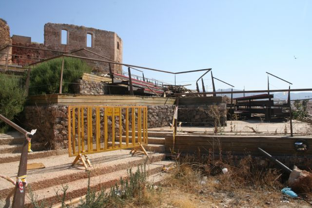 El ayuntamiento de Mazarrón desmontará el auditorio de los Vélez por seguridad - 1, Foto 1