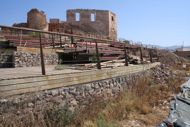 El ayuntamiento de Mazarrón desmontará el auditorio de los Vélez por seguridad - 2, Foto 2