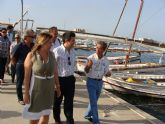 Los barcos de la semana náutica convierten el Mar Menor en un museo flotante