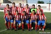 """Se recaudan 1.455 euros en el triangular amistoso ben�fico por los damnificados de Lorca que se disput� en el estadio """"Juan Cayuela"""""""