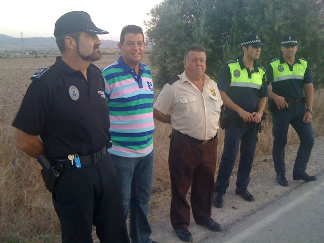 The council Public Safety and Agriculture accompany farmers in the surveillance work carried out in coordination with the Local Police
