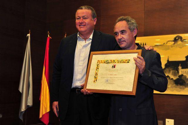 Ferran Adriá se compromete en La Unión a ser embajador del flamenco por todo el mundo - 1, Foto 1