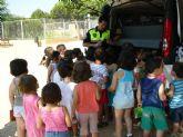 La Unidad de Policía Tutor imparte educación vial en las escuelas de verano de San Pedro del Pinatar