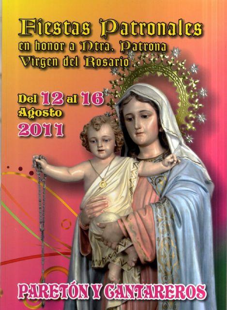 La pedan�a de El Paret�n-Cantareros celebra del 12 al 16 de agosto sus fiestas en honor a la Virgen del Rosario, Foto 1