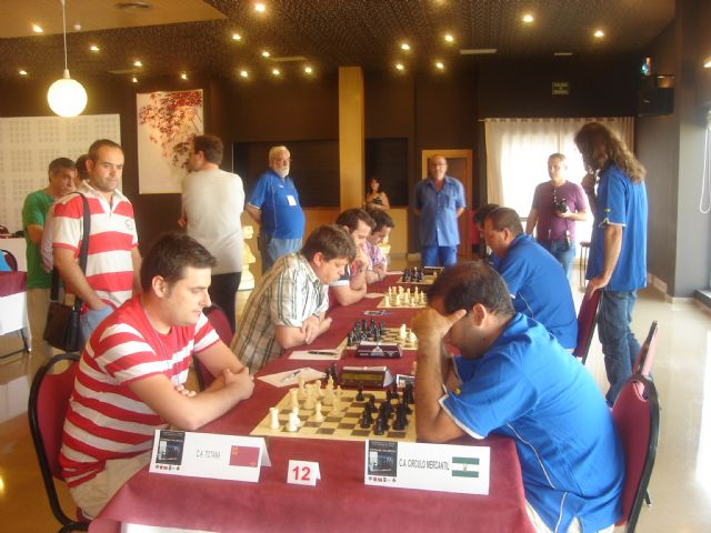 Nearly 200 chess players competing yesterday in the National Championship Totana for the group II