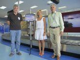Medio Ambiente lleva la exposición 'San Javier desde otro ángulo' al aeropuerto de San Javier