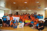 Un total de 33 peregrinos de Ecuador son acogidos por familias totaneras y el colegio 'La Milagrosa' con motivo de la celebración de la Jornada Mundial de la Juventud