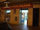 Detenido el responsable del robo en un bazar 24 horas de San Javier