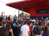 Cientos de personas participan en la fiesta de la Juventud en San Pedro del Pinatar