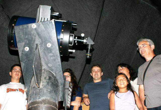 Observación multitudinaria de ´lluvia de estrellas´, en el Cabezo de la Jara - 1, Foto 1