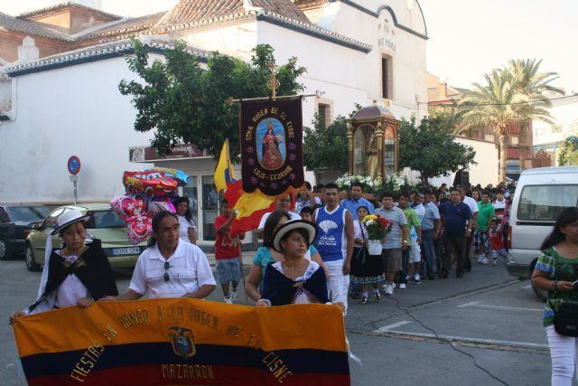Mazarrón y su comunidad ecuatoriana veneraron a la Virgen del Cisne en su gran día - 1, Foto 1