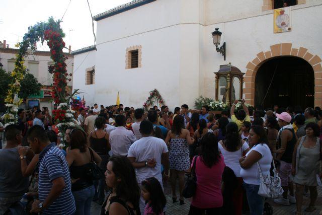 Mazarrón y su comunidad ecuatoriana veneraron a la Virgen del Cisne en su gran día - 2, Foto 2