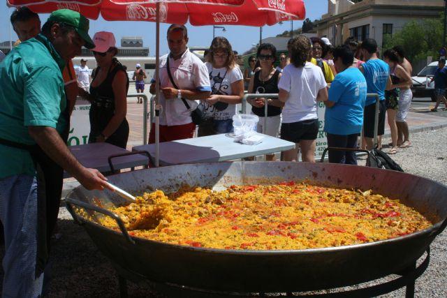200 peregrinos disfrutan de Mazarrón antes de su participación en la JMJ de Madrid - 1, Foto 1