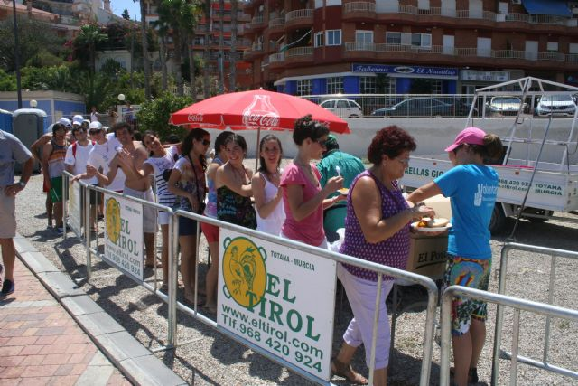 200 peregrinos disfrutan de Mazarrón antes de su participación en la JMJ de Madrid - 3, Foto 3