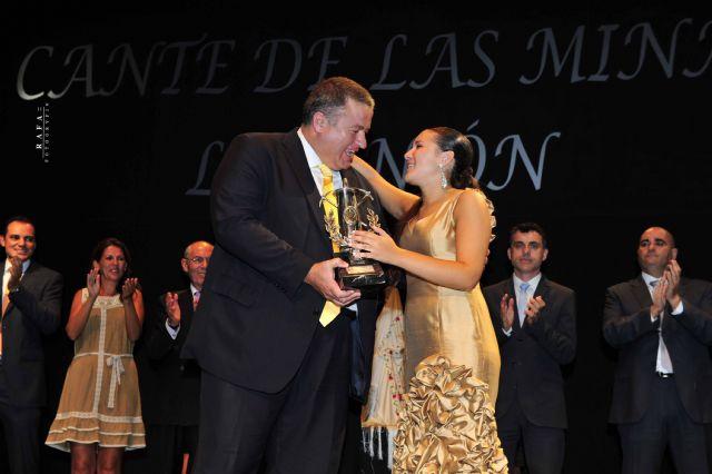 Celia Romero, Lámpara Minera del Festival Internacional del Cante de las Minas 2011 - 2, Foto 2