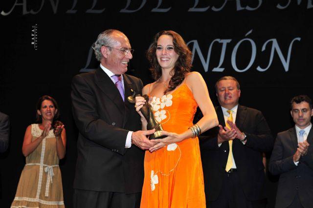 Celia Romero, Lámpara Minera del Festival Internacional del Cante de las Minas 2011 - 4, Foto 4
