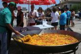 200 peregrinos disfrutan de Mazarr�n antes de su participaci�n en la JMJ de Madrid