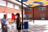 El Ayuntamiento de Puerto Lumbreras realiza obras de acondicionamiento y mejora en los colegios del municipio durante el verano