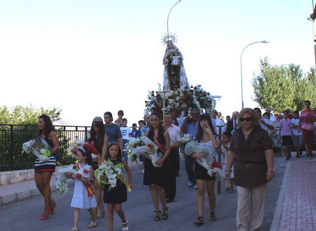 Cientos de personas se dieron cita en las Fiestas Patronales de Góñar  en honor a la Virgen del Carmen - 1, Foto 1