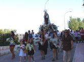Cientos de personas se dieron cita en las Fiestas Patronales de Góñar  en honor a la Virgen del Carmen